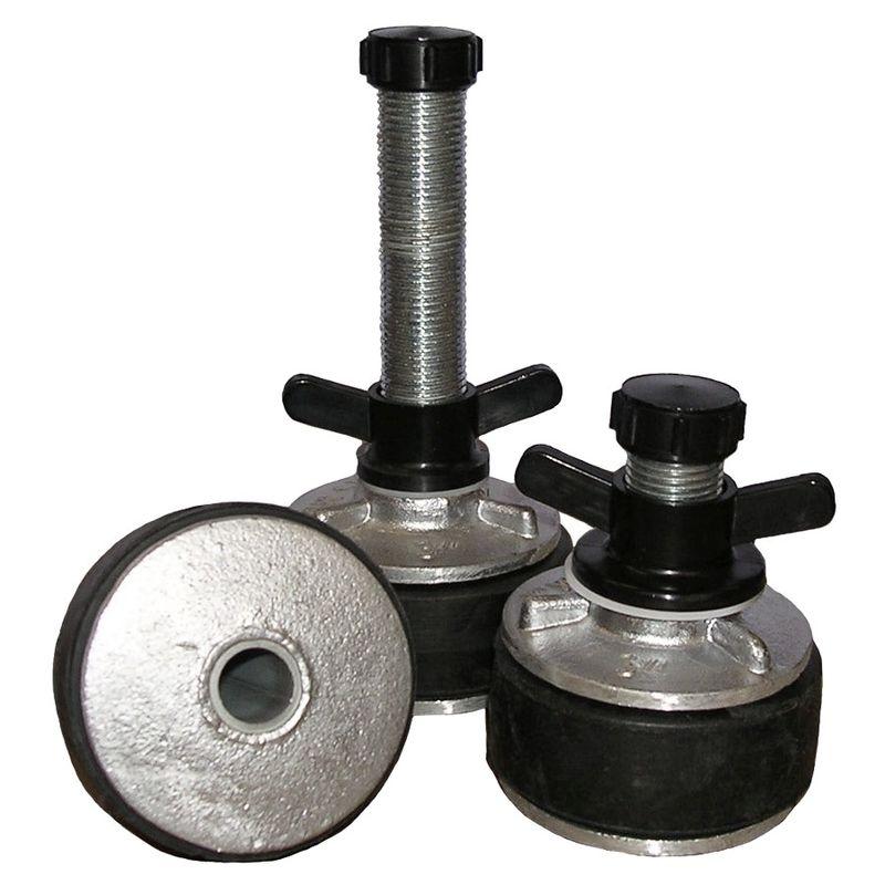 Aluminium Expanding Plug Hollow 13mm Shaft 108120mm