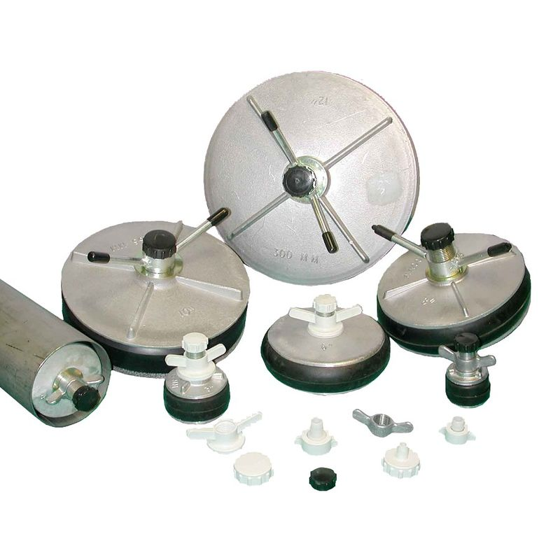 Aluminium Expanding Plug Hollow 25mm Shaft 270290mm