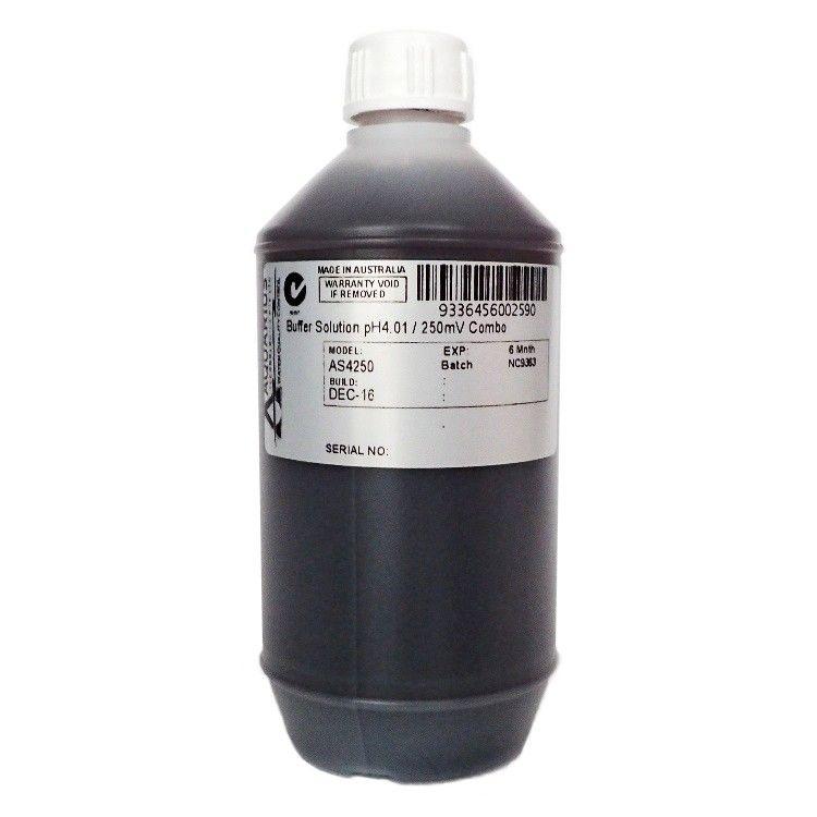 Aquarius pH4 ORP 250mV Combination Solution 250ml