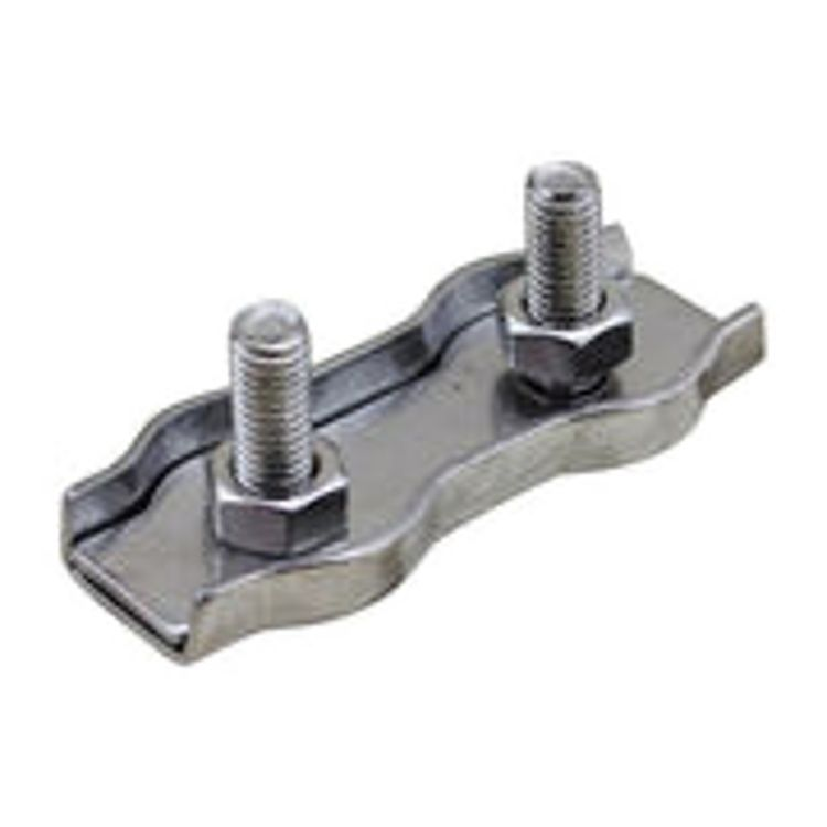 Cable Clamp Stainless Steel 5mm