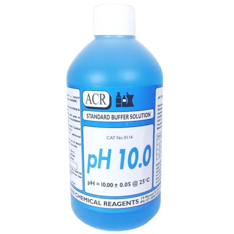 Calibration Solution Buffer pH10 Blue 500ml