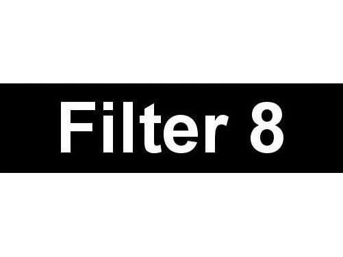 Equipment Label  Filter 8