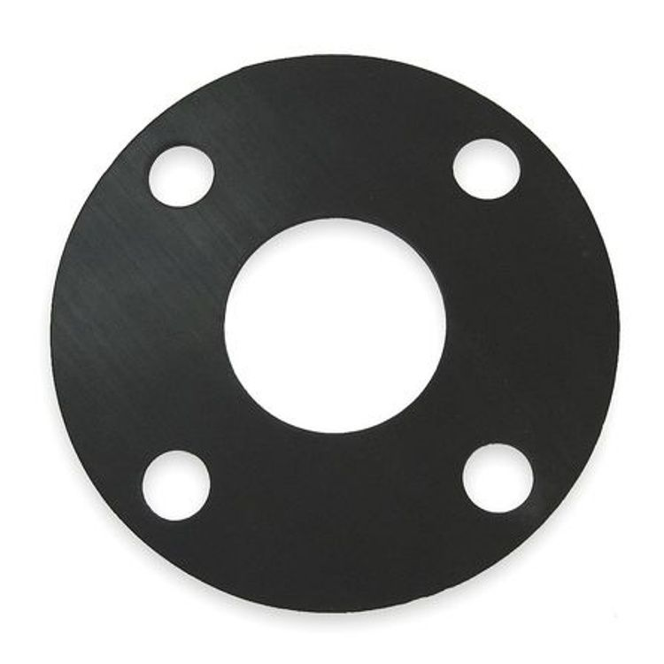 Flange Gasket  Natural Rubber 3mm Thickness 40mm Table DE