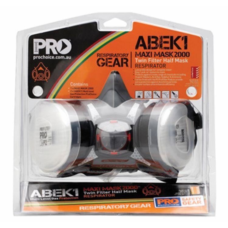 Half Mask Respirator Kit Blister Pack