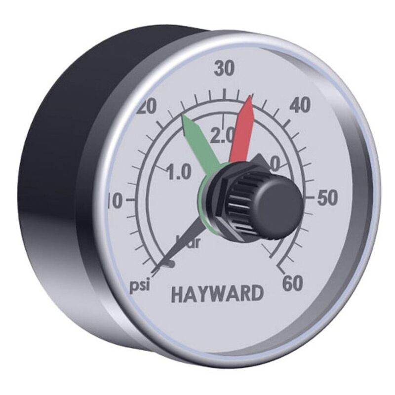 Hayward Pressure GaugeWith Adjustable PointersRear Connection