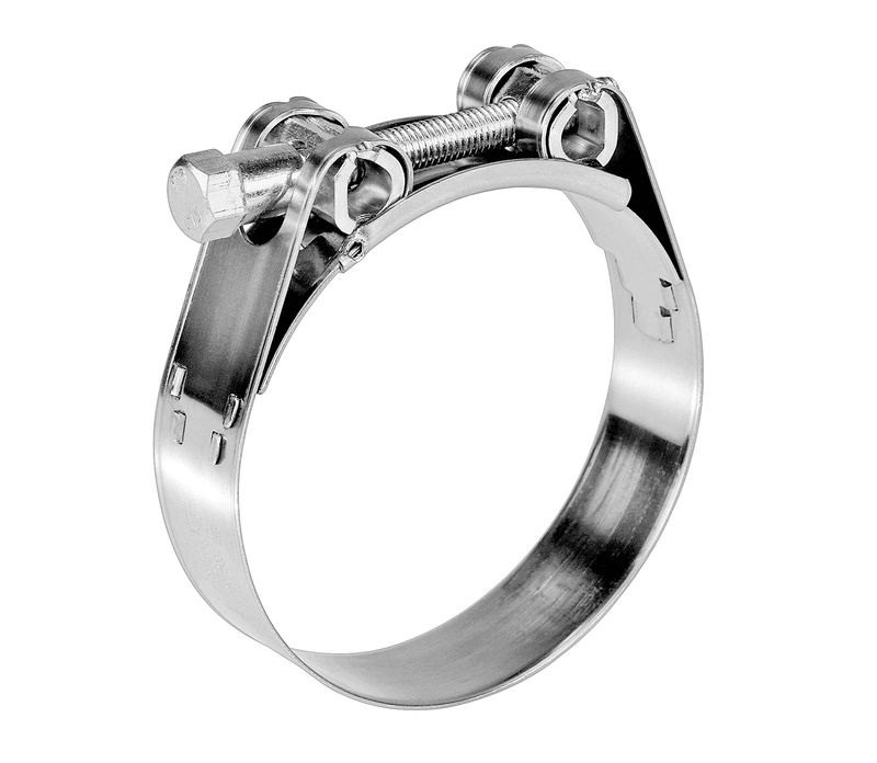 Heavy duty hose clamp stainless steel grade mm