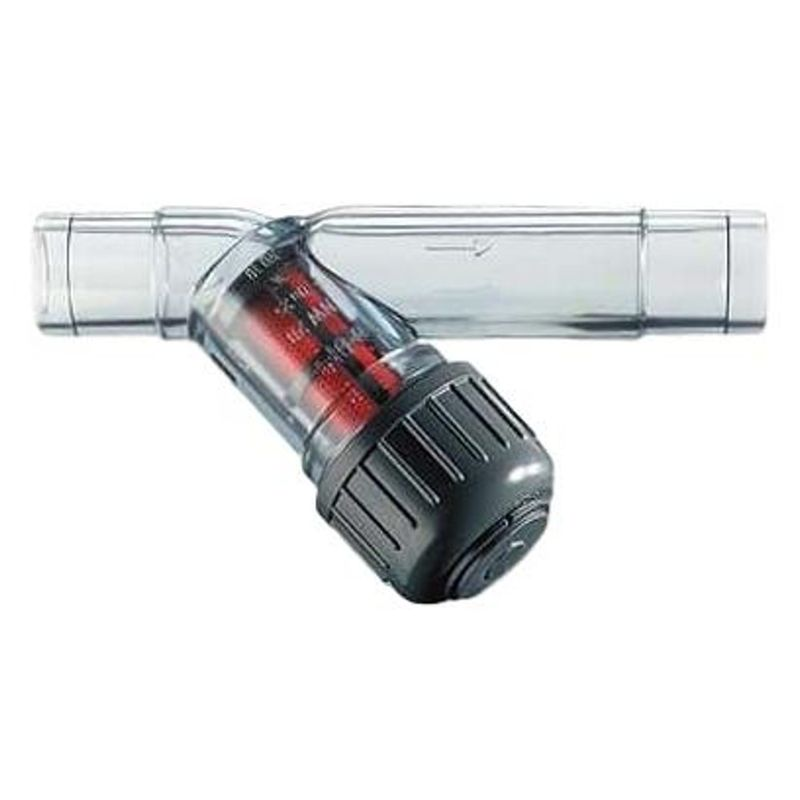 Inline Water FilterGeorg Fischer Type 306Transparent Body  15mm
