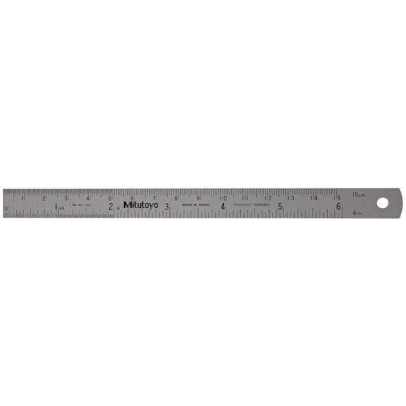 Mitutoyo Ruler 150mm Semi Flexible 182302