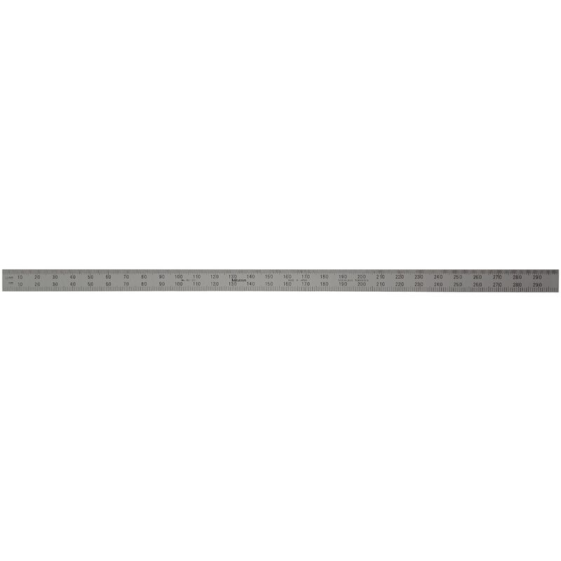 Mitutoyo Stainless Ruler 300mm Fully Flexible 182231