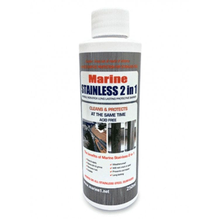 Stainless Steel Polish and Protector 250ml