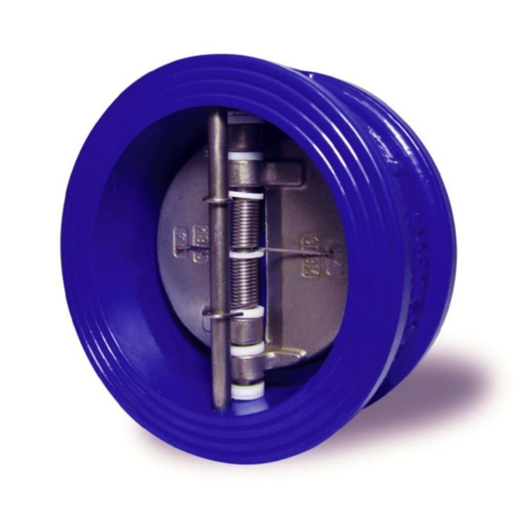 Wafer Duo Check Valve Cast Iron 100mm