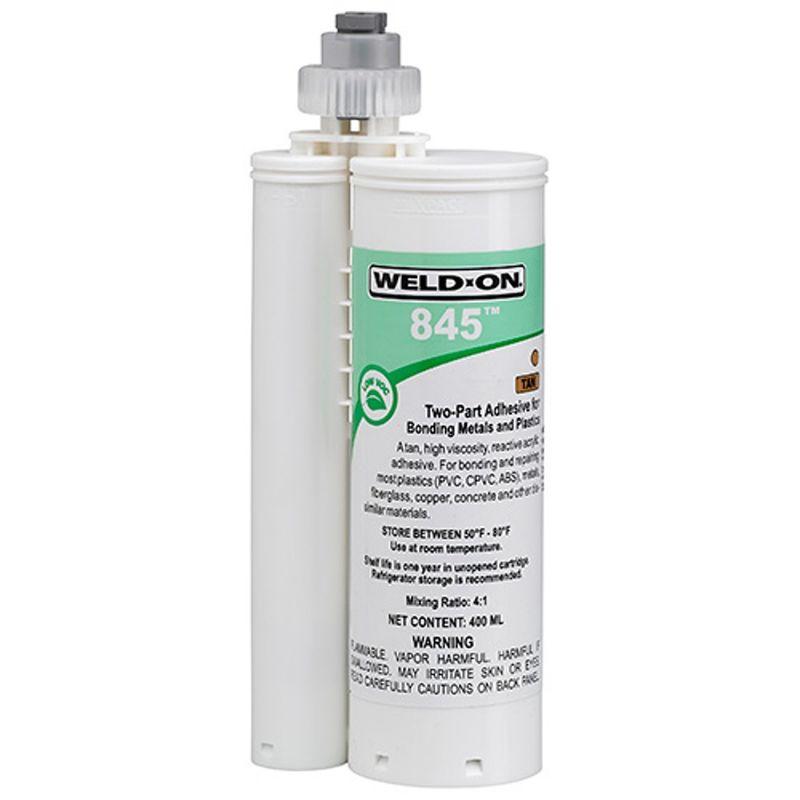 WeldOn 845 PVC Repair 400ml Cartridge