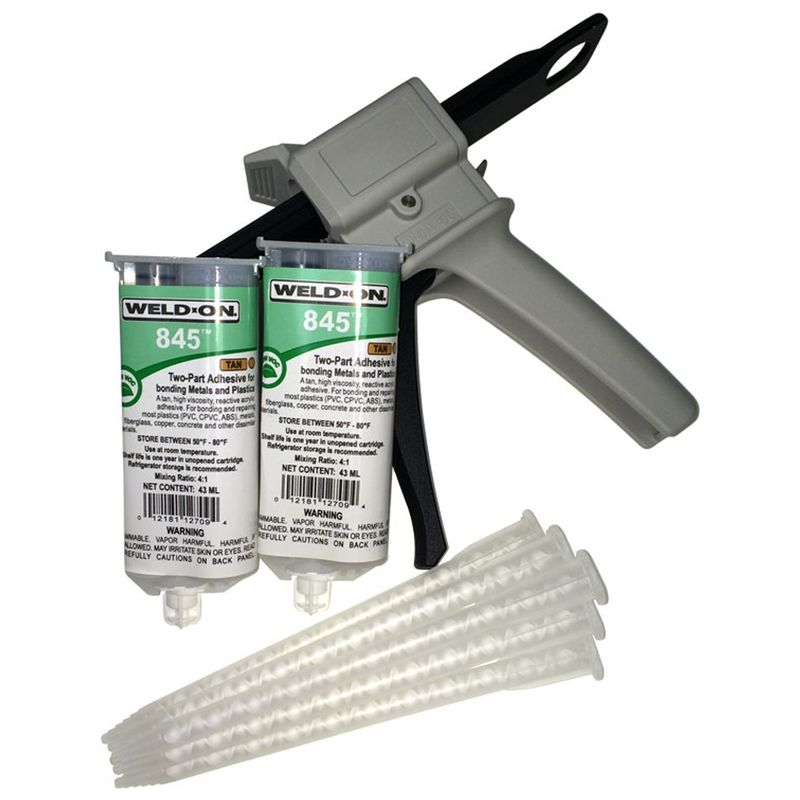 WeldOn 845 PVC Repair 43ml Starter Kit