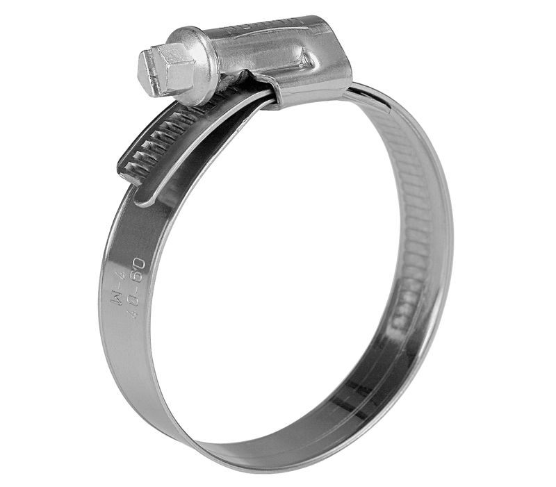 Worm Drive Hose Clamp Stainless Steel Grade 304 25mm   40mm Range