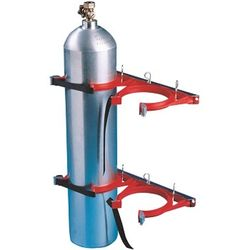 Cylinder Restraint Kit To Suit 4 Bottles - Galvanised (2 Restraints per bottle)