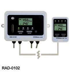 CO2 Detector with Alarm & Remote Display
