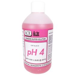 Calibration Solution Buffer pH4 Red 500ml