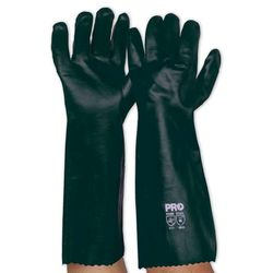 Chemical Resistant Gloves 45cm Green PVC