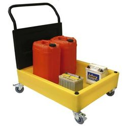 Chemical Trolley Square (100 Litre Sump)