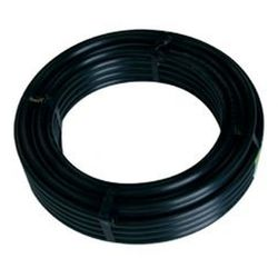 Chemical Tubing 58mm PE Rigid Black 50m Roll