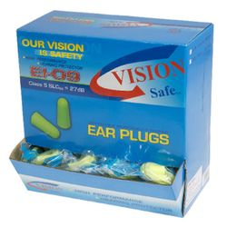Corded Ear Plugs  Box Of 100 Pairs