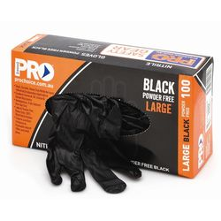 Disposable Nitrile Gloves Box Of 100 Large