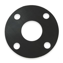 Flange Gasket - Natural Rubber 3mm Thickness 15mm Table D/E