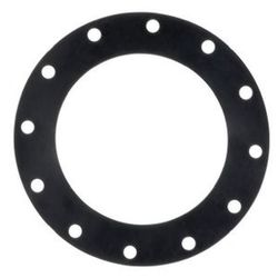 Flange Gasket  Natural Rubber 3mm Thickness 250mm Table E