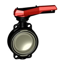 Georg Fischer (GF) Type 567 Butterfly Valve 100mm