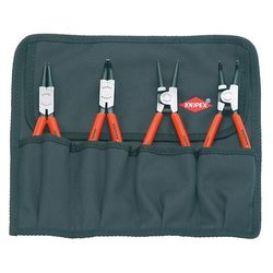 Knipex 00 19 56 Set Of 4 Circlip Pliers