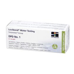 Lovibond Photometer Reagents Free Chlorine DPD1 100 Tablets