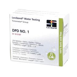 Lovibond Photometer Reagents Free Chlorine DPD1 250 Tablets