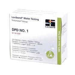 Lovibond Photometer Reagents Free Chlorine (DPD 1) 250 Tablets