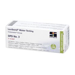 Lovibond Photometer Reagents Total Chlorine DPD3 100 Tablets