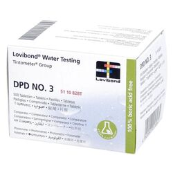 Lovibond Photometer Reagents Total Chlorine DPD3 500 Tablets
