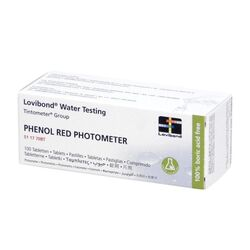 Lovibond Photometer Reagents pH PHENOL RED 100 Tablets