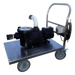 Manual Pool Vacuum Unit