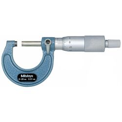 Mitutoyo Outside Micrometer Metric 25mm 103137
