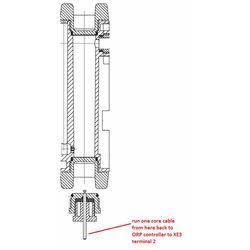 Potential Equaliser Plug for DGMa Probe Housing  25mm