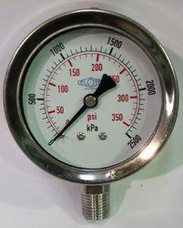 Floyd Pressure Gauge 63mm Dial - 2500 kPa (Bottom Connection)