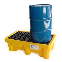 Spill Containment Pallet Poly 2 Drum