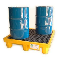 Spill Containment Pallet Polyethylene 4 Drum