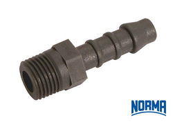 Straight Hose Connector 160mm x 34andquot BSPT
