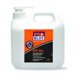 Sunscreen ProBloc SPF50+ 2.5 Litre Pump Action